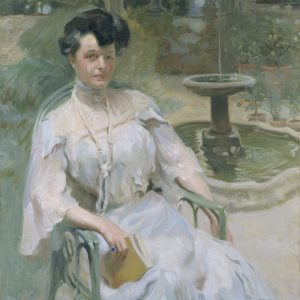 Portrait of Hortense L. Mitchell Acton in the Pomario