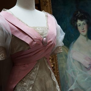 Pink Dress and Portrait of Hotense Acton