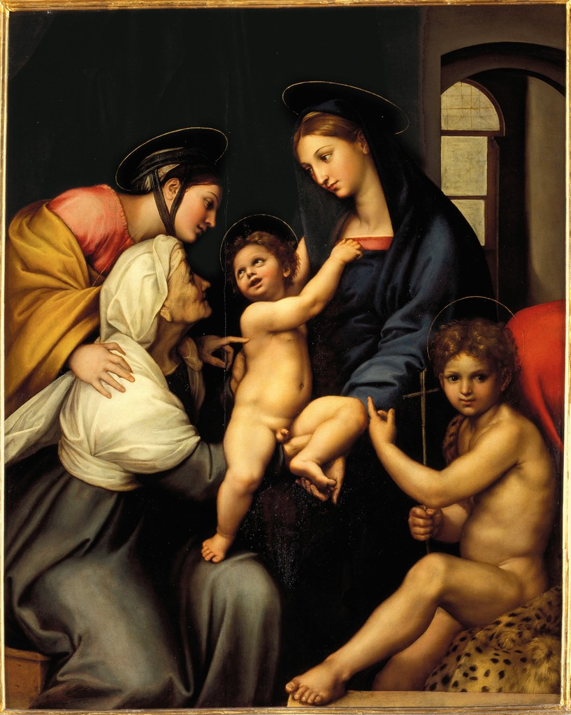 Madonna of the Linen Window